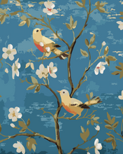 Load image into Gallery viewer, Birds on Flowers Tree Painting Kit