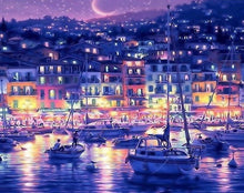Load image into Gallery viewer, City View at Night Paint by Numbers