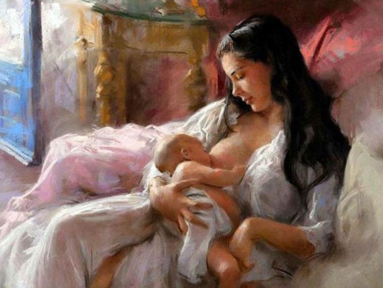 Mother Love Paint by Numbers