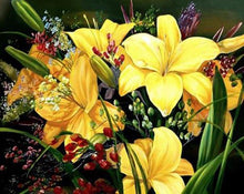 Load image into Gallery viewer, Yellow Lilies Painting by Numbers