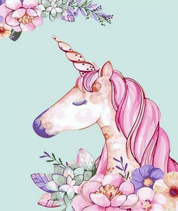 Cartoonist Unicorn Paint by Numbers