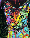Colorful Cat DIY Painting Kit