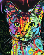 Load image into Gallery viewer, Colorful Cat DIY Painting Kit