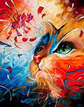 Load image into Gallery viewer, Cat Fantasy DIY Painting Kit