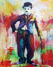 Load image into Gallery viewer, Charlie Chaplin DIY Painting Kit