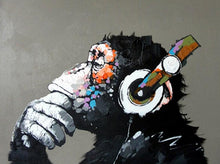 Load image into Gallery viewer, Chimpanzee Paint by Numbers