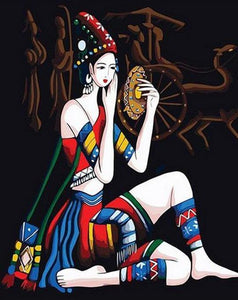 Yunan Girl  Paint by Numbers