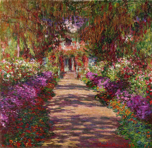 Garden in Giverny Paint by Numbers