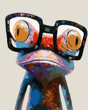 Load image into Gallery viewer, Colorful Frog DIY Painting Kit
