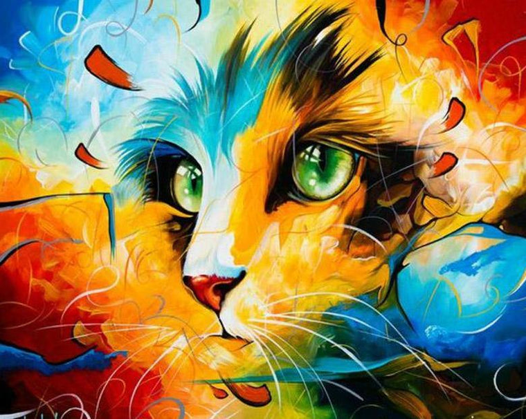 Cat Fantasy Paint by Numbers
