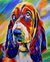 Colorful Dog Paint by Numbers