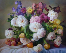 Load image into Gallery viewer, Fruits & Flowers Paint by Numbers