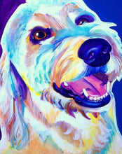 Load image into Gallery viewer, Golden doodle Paint by Numbers