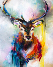Load image into Gallery viewer, Stag Art Paint by Numbers