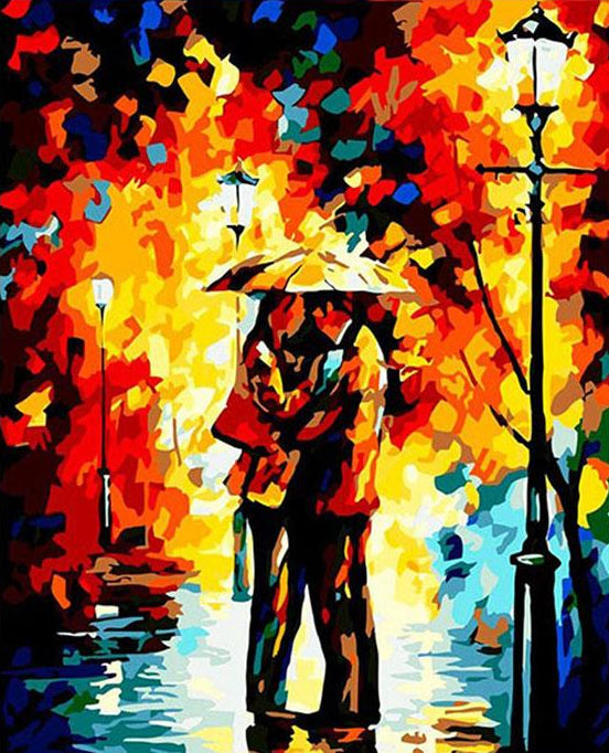 Couple Painting by Numbers