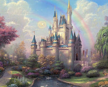 Load image into Gallery viewer, Disney Castle Paint by Numbers