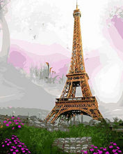 Load image into Gallery viewer,  Paris Beauty Paint by Numbers