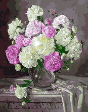 Load image into Gallery viewer, Elegant Flowers Paint by Numbers