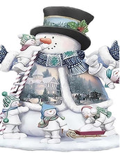 Load image into Gallery viewer, Fantasized Snowman Paint by Numbers