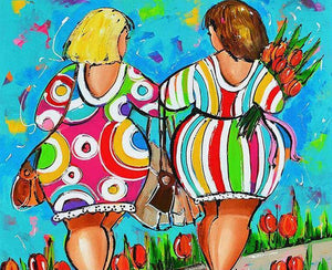 Fat Women  Paint by Numbers