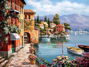 Beautiful Scenery Paint by Numbers