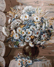 Load image into Gallery viewer, Daisies in Flowerpot Paint by Numbers