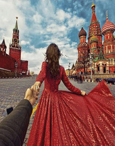 Follow me to Moscow Paint by Numbers