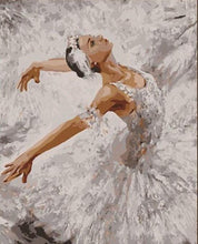 Load image into Gallery viewer, Dancing Girl Painting by Numbers
