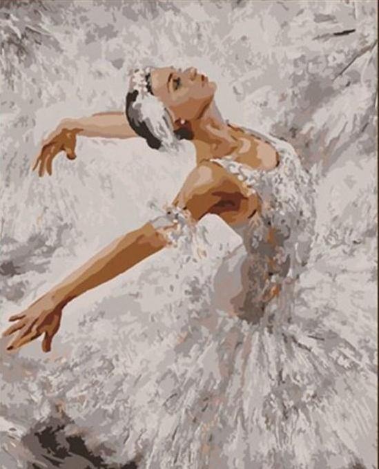 Dancing Girl Painting by Numbers