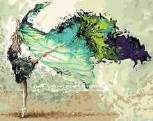 Load image into Gallery viewer, Dancing Girl Paint by Numbers