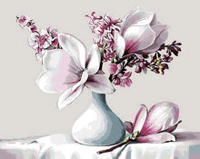 Load image into Gallery viewer, Gorgeous Magnolia Paint by Numbers