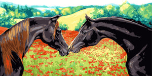Horses Pair DIY Painting Kit
