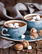 Load image into Gallery viewer, Hot Chocolate Mugs Paint by Numbers
