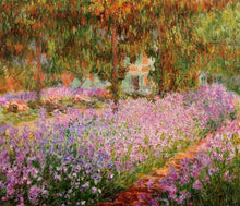 Load image into Gallery viewer, Irises by Claude Monet DIY Painting