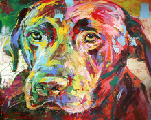 Load image into Gallery viewer, Labrador Paint by Numbers
