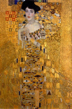 Load image into Gallery viewer, Lady in Gold Paint by Numbers Kit