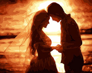 Wedding Couple Paint by Numbers