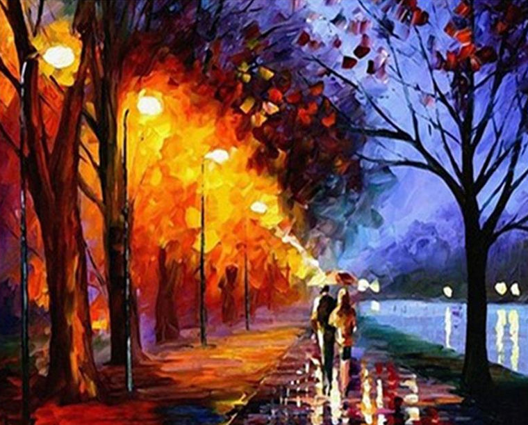Lovely Couple Paint by Numbers