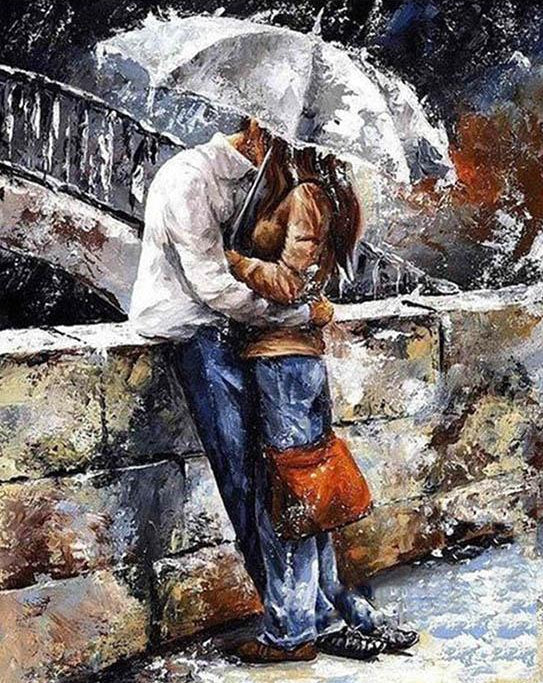 Couple Love Paint by Numbers