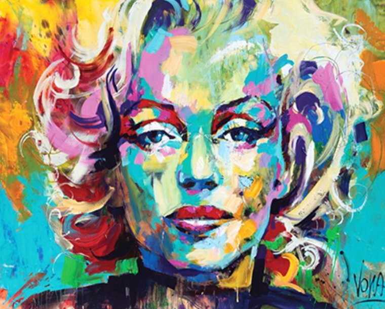 Marilyn Monroe Paint by Numbers