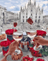 Milan Cathedral & Dating Couple