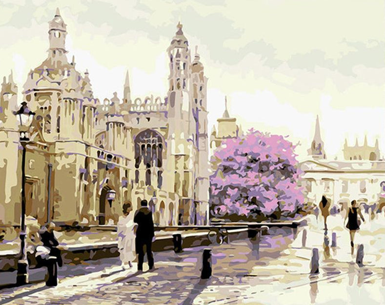 Morning in London Paint by Numbers