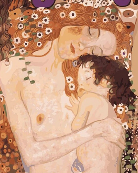 Mother & Child Paint by Numbers
