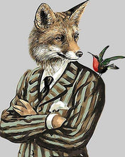 Load image into Gallery viewer, Mr. Fox Paint by Numbers