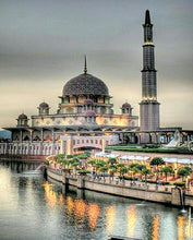 Load image into Gallery viewer, Mosque Paint by Numbers Kit