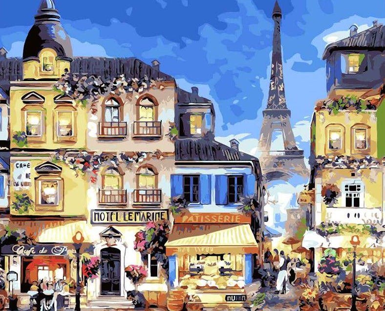 Paris Market DIY Painting Kit