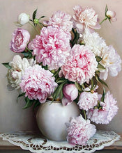 Load image into Gallery viewer, Peony Flowers DIY Painting Kit