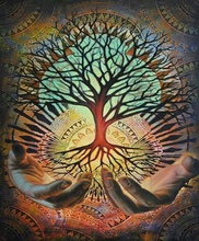 Load image into Gallery viewer, Psychedelic Tree of Life Painting Kit