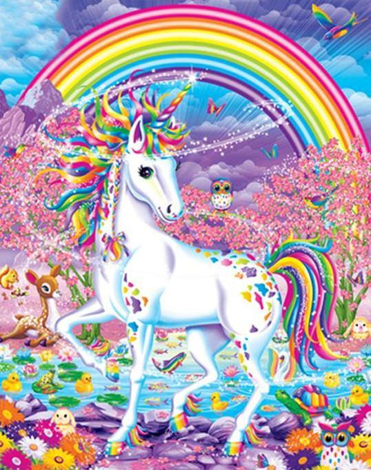 Unicorn Fantasy Paint by Numbers