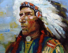 Load image into Gallery viewer, Red Indian DIY Painting Kit
